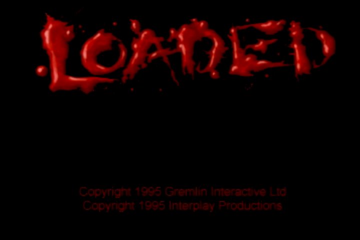 Loaded PlayStation Title screen.