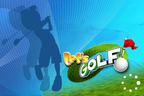Let's Golf! iPhone Loading Screen