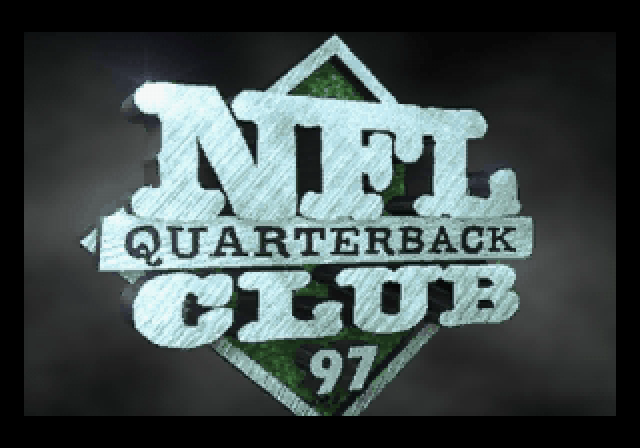 NFL Quarterback Club 97 SEGA Saturn Title in intro