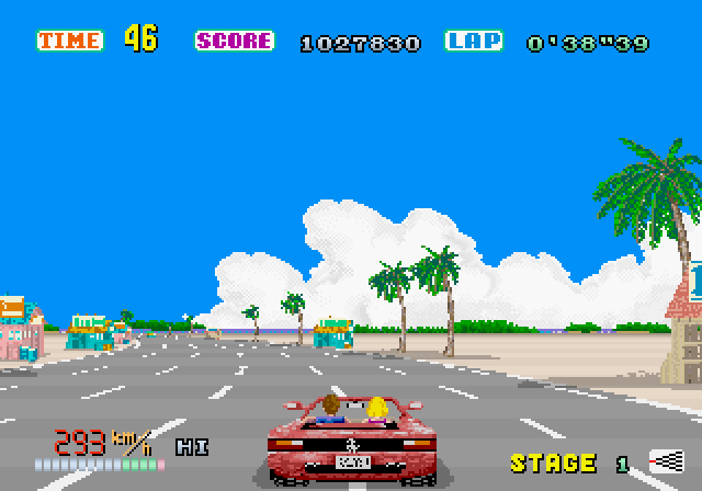OutRun SEGA Saturn Crusin'