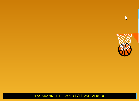 NBA 2K10 Basketball: Flash Version Browser Goes right past the net, as if it wasn't there