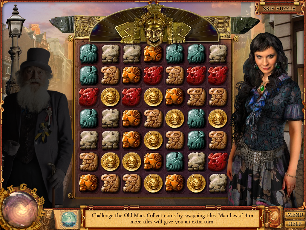 "Cassandra's Journey 2: The Fifth Sun of Nostradamus Windows <moby game=""Bejeweled Deluxe"">Tile-matching game</moby>"