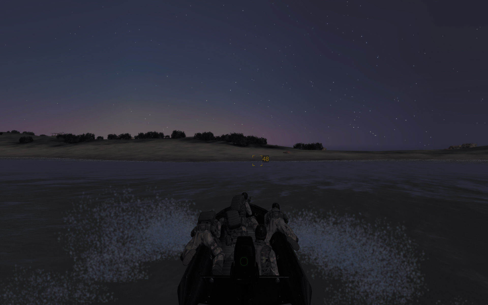ArmA: Queen's Gambit Windows Night-time insertion