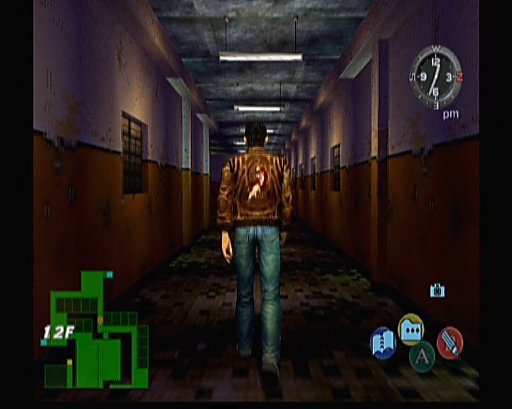 Shenmue II Xbox Shenmue II - What, only 12th floor? When will I ever reach 40th with so many guards on every floor!?