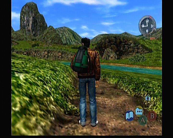 Shenmue II Xbox Shenmue II - Mmm, guess busses don't go this road.