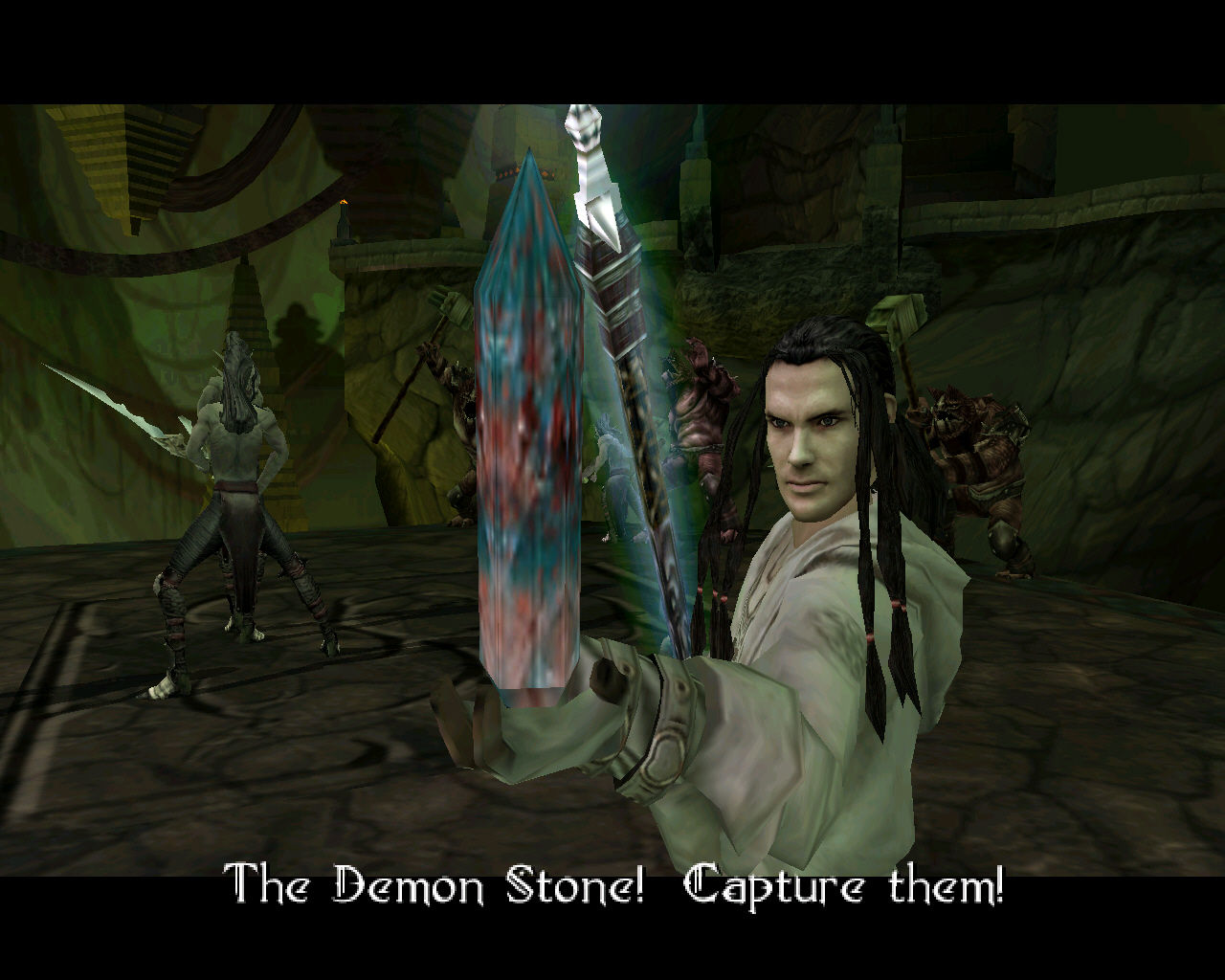 Forgotten Realms: Demon Stone Windows The fabled demon stone