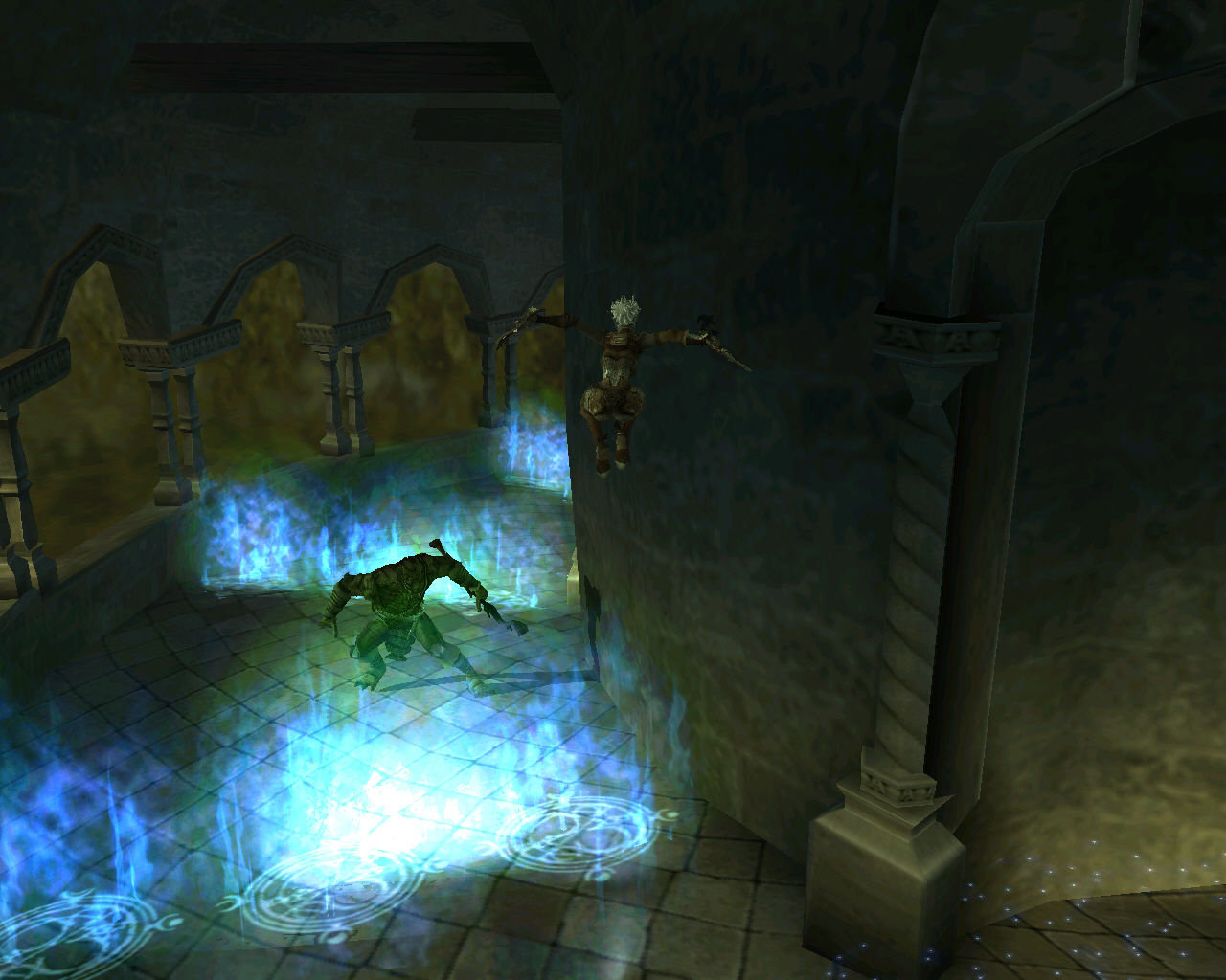 Forgotten Realms: Demon Stone Windows Zhai can earn a jumping ability crucial to skip certain obstacles...