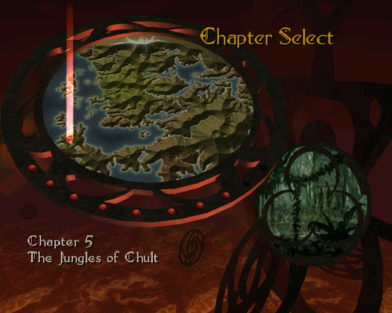 Forgotten Realms: Demon Stone Windows You can re-play any chapter from the world map in order to earn more experience and money