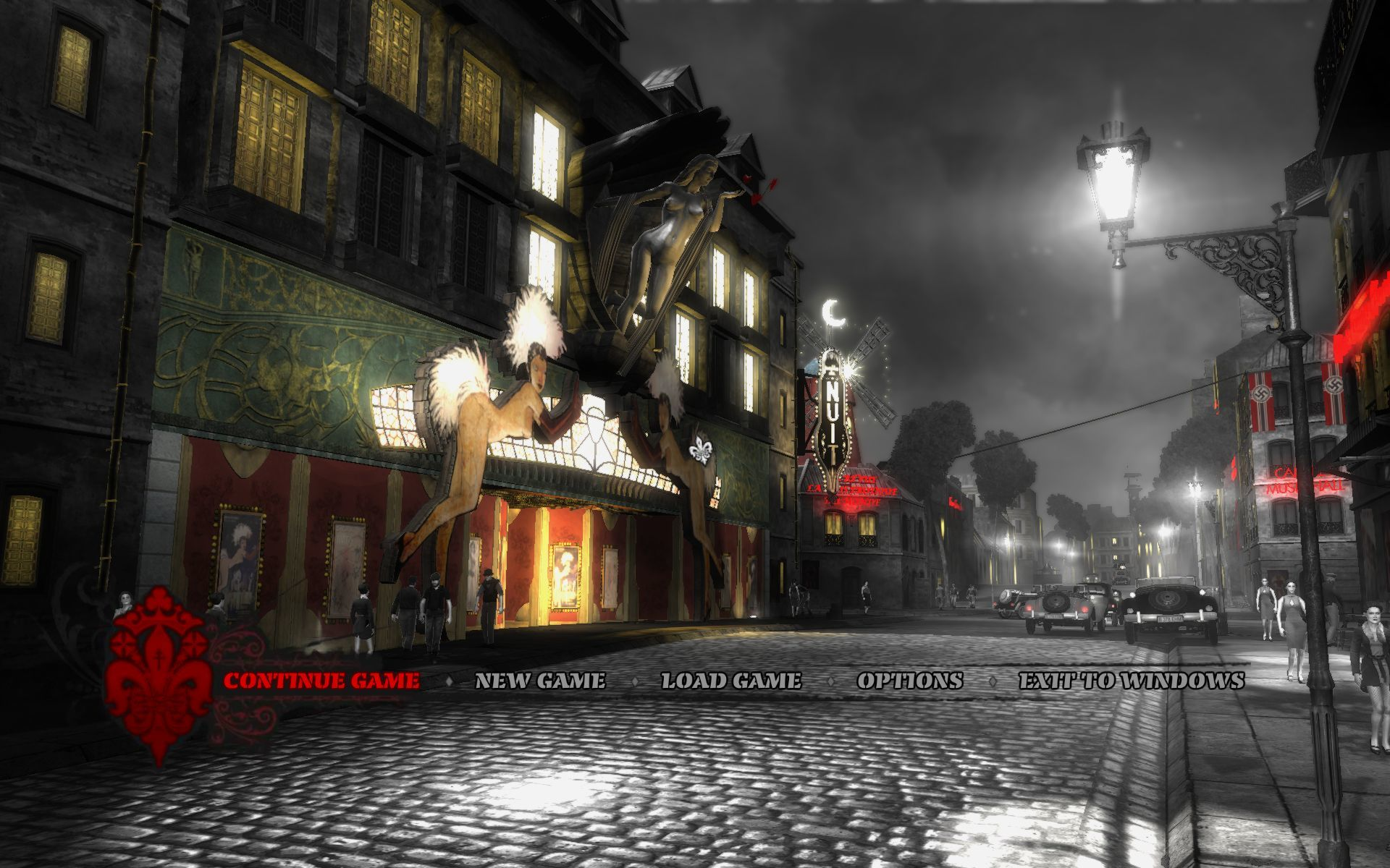 The Saboteur Windows Main Menu