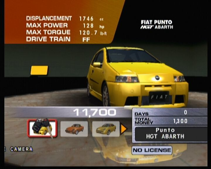 Sega GT 2002 Xbox Buying Fiat Punto HGT Abarth, the key in your possession proves it's all yours now.