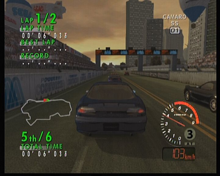 Sega GT 2002 Xbox When you play a quick race, you don't need to purchase any car, you can select whatever you like.