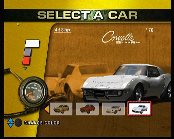 Sega GT 2002 Xbox Or we can all drive what we find a real Corvette for a change, not only newest model.