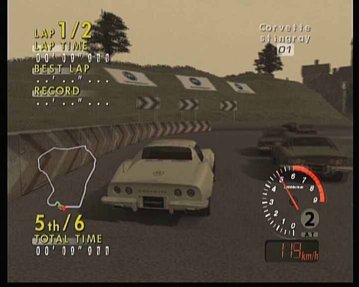 Sega GT 2002 Xbox In historical race, they all have cars from same timeline, but not of same type.