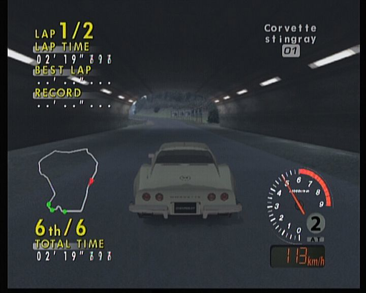 Sega GT 2002 Xbox Of course, driving inside a tunnel will create a proper ambience and sound.