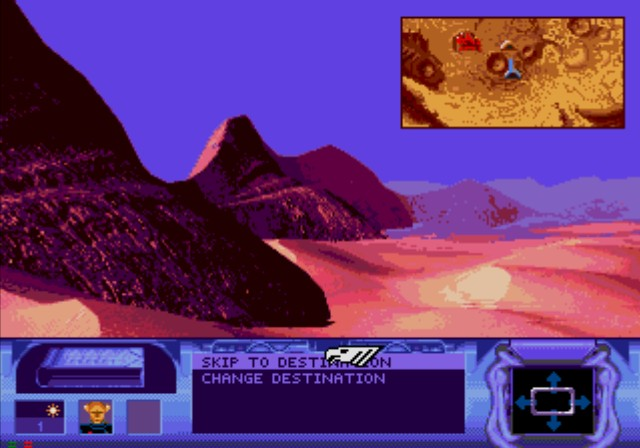 Dune SEGA CD If you don't like the traveling cinematic, you can skip directly to the destination with time moved forward accordingly.