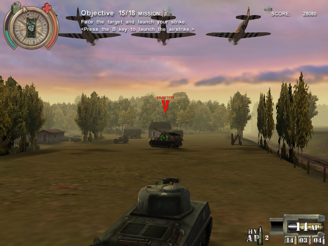 Panzer Killer! Windows Different attacks are used for different situations (demo version)