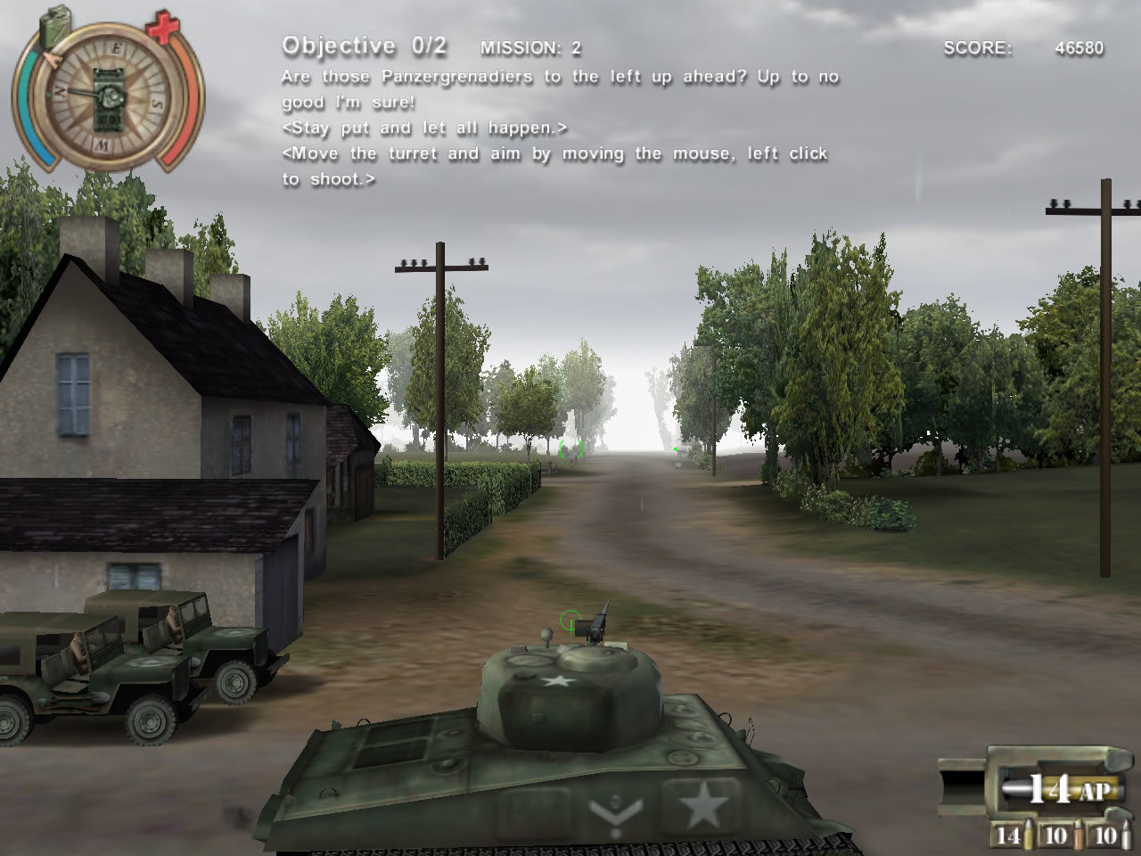 Panzer Killer! Windows The first real mission! (demo version)