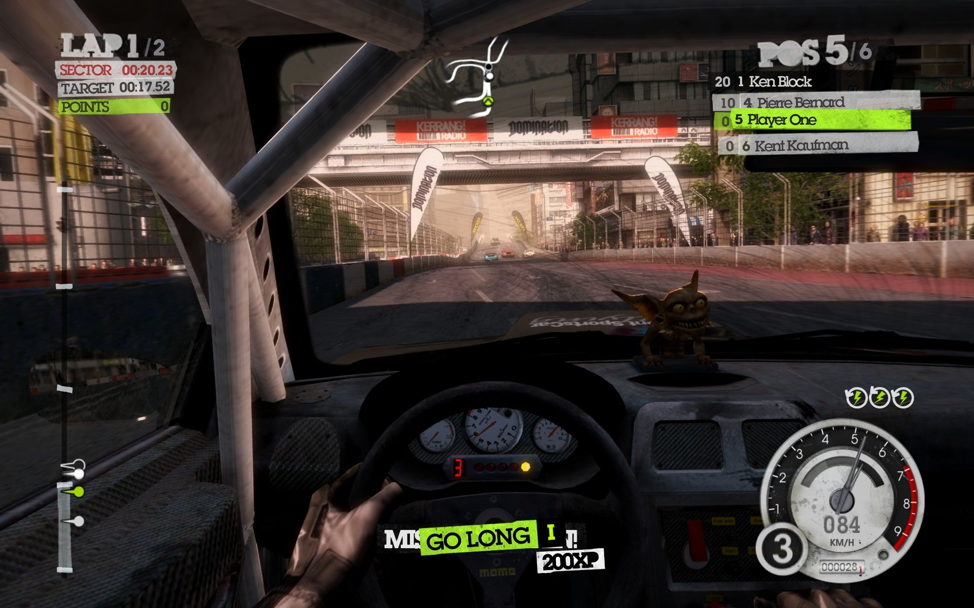 DiRT 2 Windows Completed a mission (see bottom).