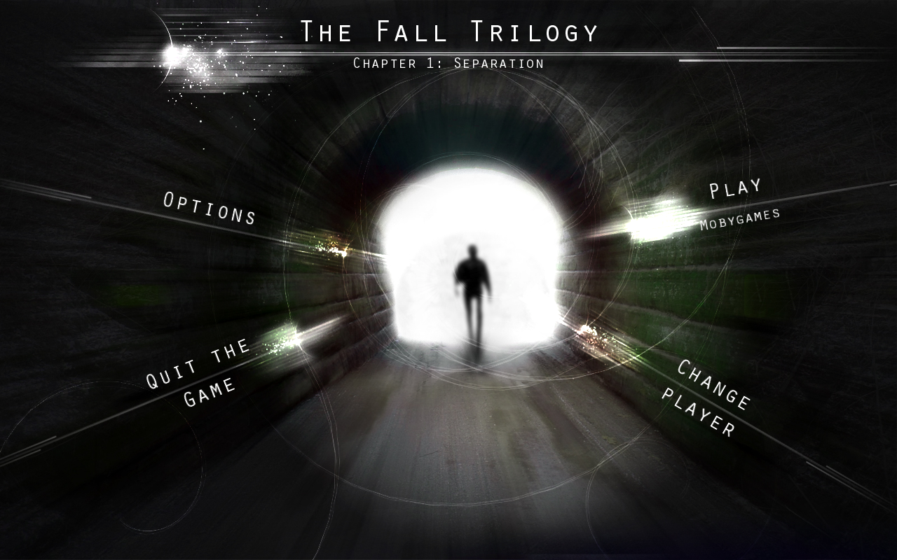 The Fall Trilogy: Chapter 1 - Separation Windows Main menu
