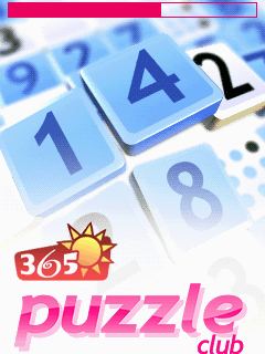 365 Puzzle Club J2ME Title screen