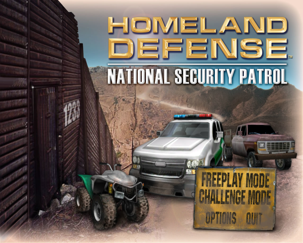 Homeland defense national security patrol free full download