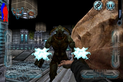 Prey Mobile 3D iPhone These guys are tough - real tough.