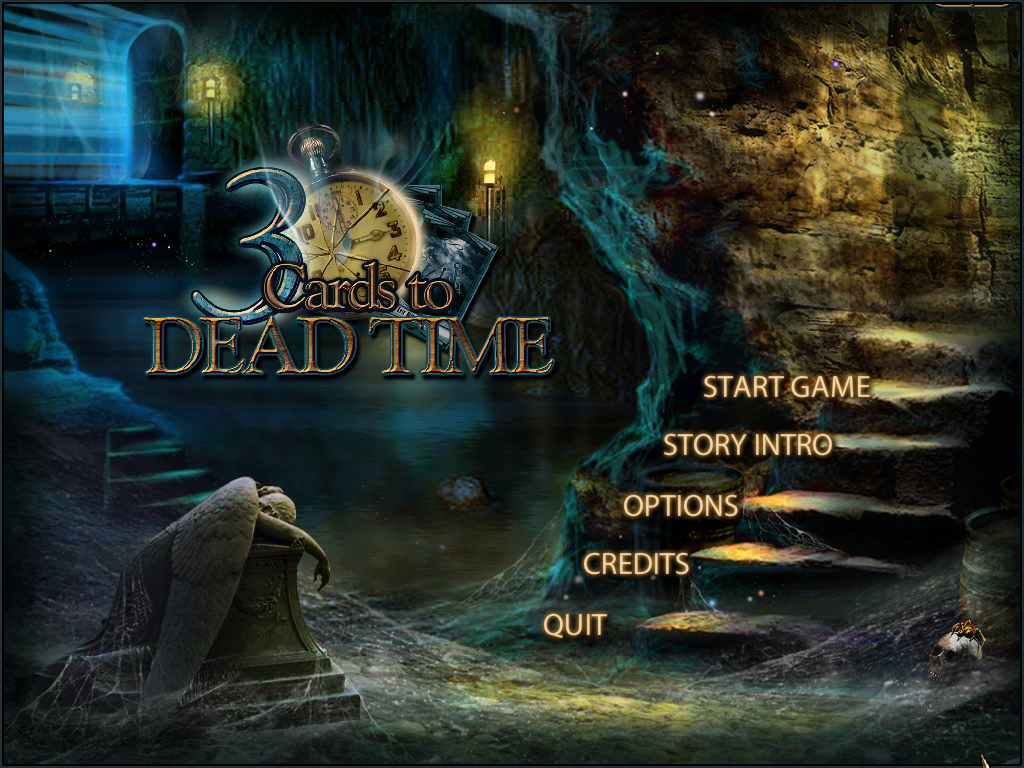 3 Cards to Dead Time Windows Main menu