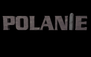 Polanie DOS (Polanie) Title screen - floppy disk release