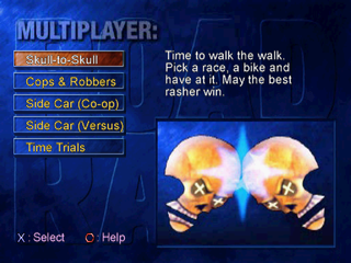Road Rash: Jailbreak PlayStation Multiplayer modes