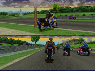 Road Rash: Jailbreak PlayStation Cops & Robbers mode