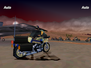 Road Rash: Jailbreak PlayStation Five-O mode start