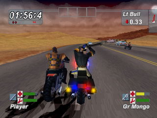 Road Rash: Jailbreak PlayStation Police brutality
