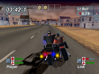 Road Rash: Jailbreak PlayStation Urban environment