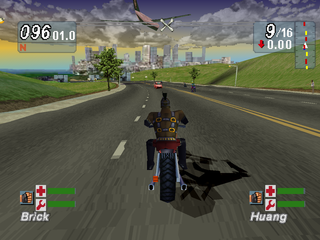 Road Rash: Jailbreak PlayStation Urban track