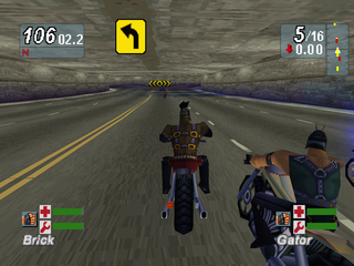Road Rash: Jailbreak PlayStation Tunnel