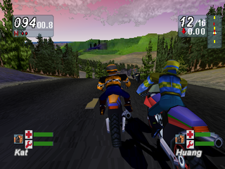 Road Rash: Jailbreak PlayStation Pine forest