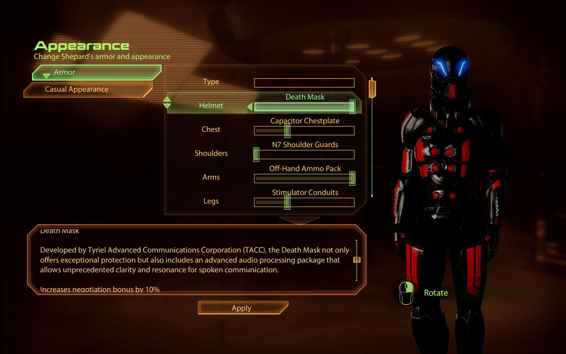 mass effect 2 how to add powers