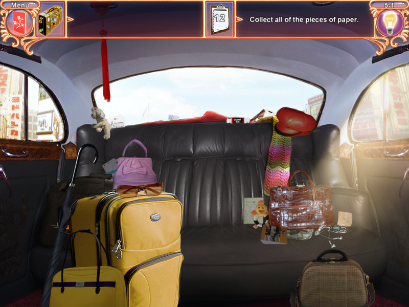 Million Dollar Quest Windows Taxi interior