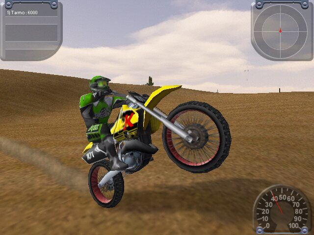 Motocross Madness 2 Windows Just showing off