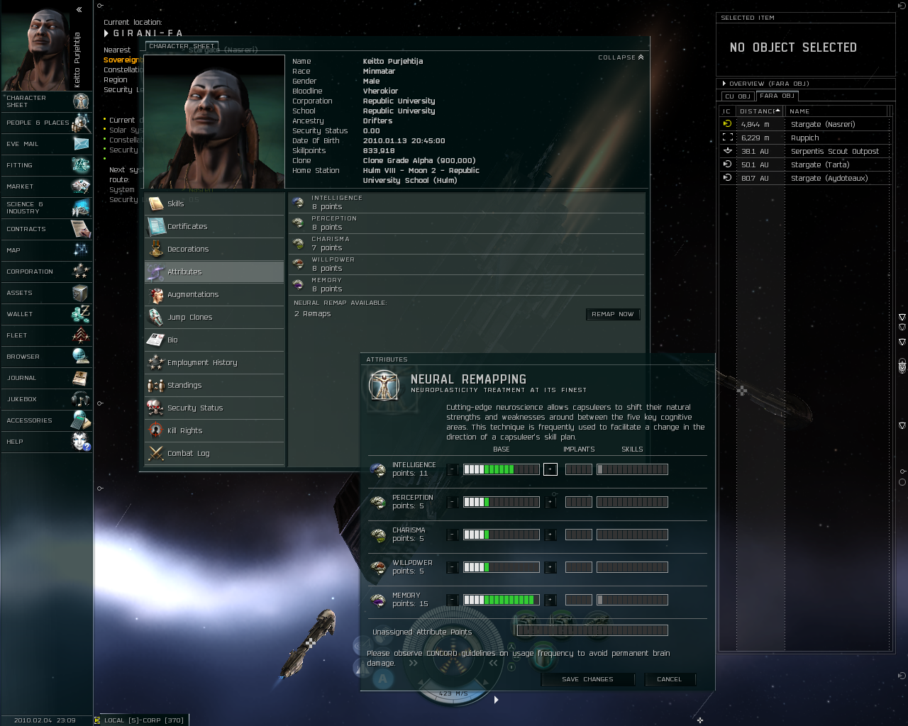 EVE Online Windows A neural remapping that will help me learn learning skills (after the 12th expansion, Dominion)