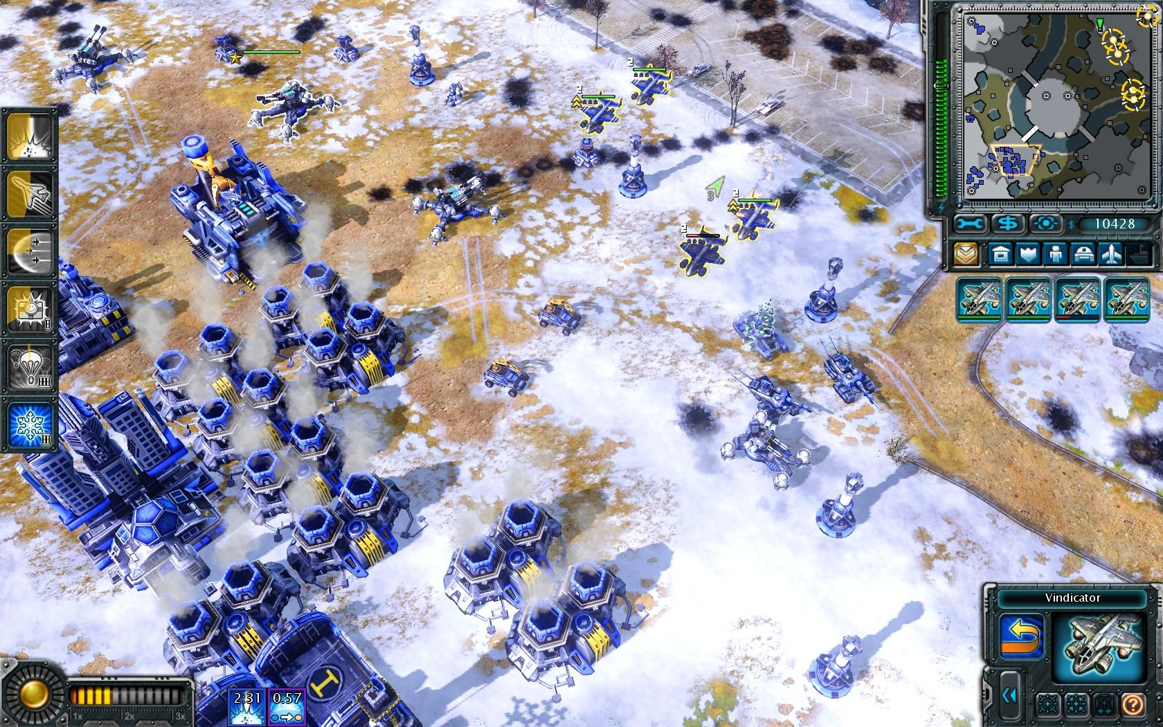Command & Conquer: Red Alert 3 - Uprising Windows Fortifying your position against all kinds of attack.