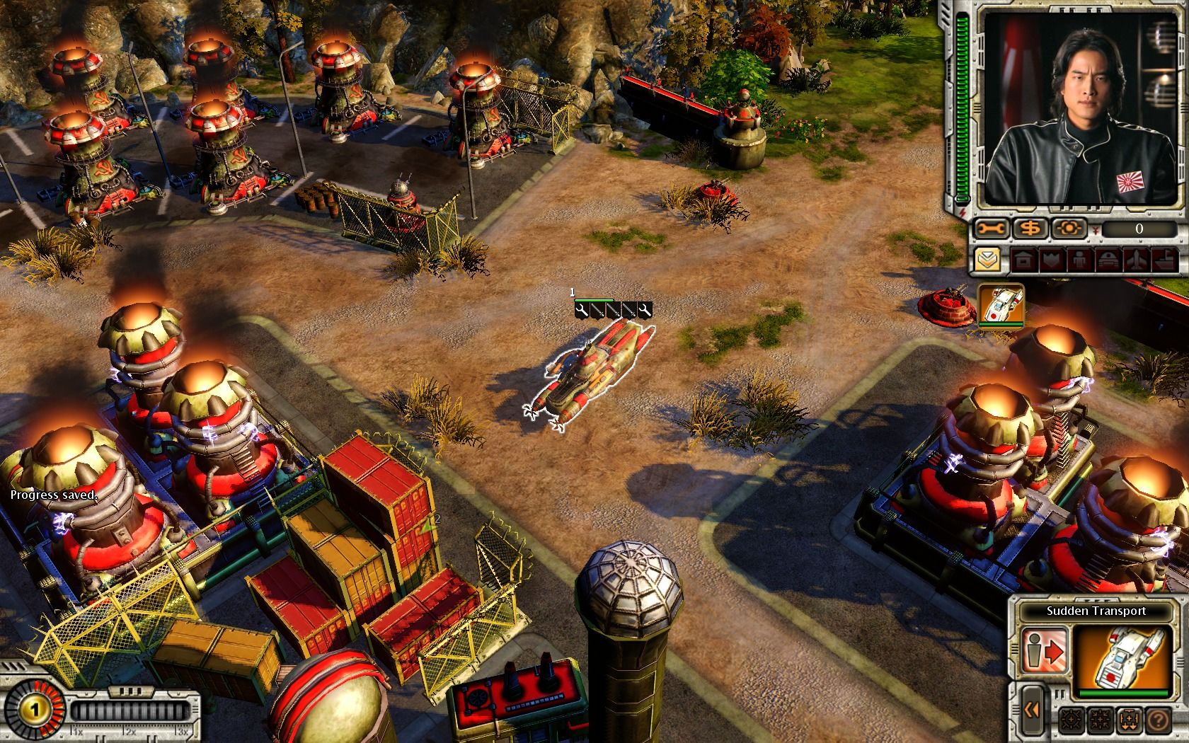 Command & Conquer: Red Alert 3 - Uprising Windows Imperial transport can take shape of any enemy mechanical unit... but somehow I doubt Soviet forces wouldn't find this suspicious.