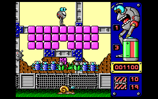 Jump DOS Falling the first brick on the first bug (EGA/VGA)