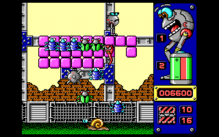 Jump DOS Robot becomes upset if bad souls are collected by him (EGA/VGA)