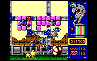 Jump DOS Robot has fallen off the wall (EGA/VGA)