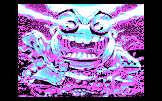 Jump DOS Title Screen (CGA)