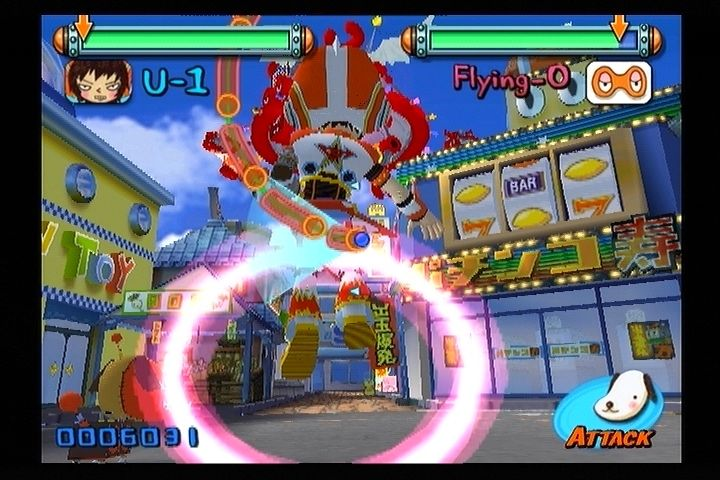 Gitaroo Man PlayStation 2 Later stages make things harder by making the motions much more complicated.