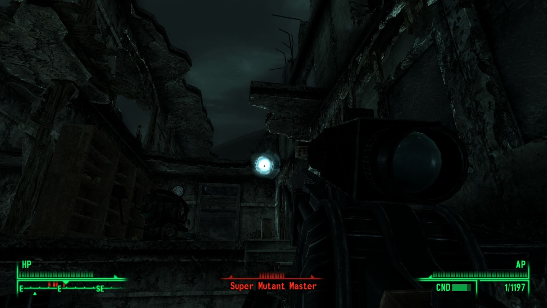 Fallout 3: Operation: Anchorage Windows When you leave the sim, you'll have the powerful Gauss sniper rifle.