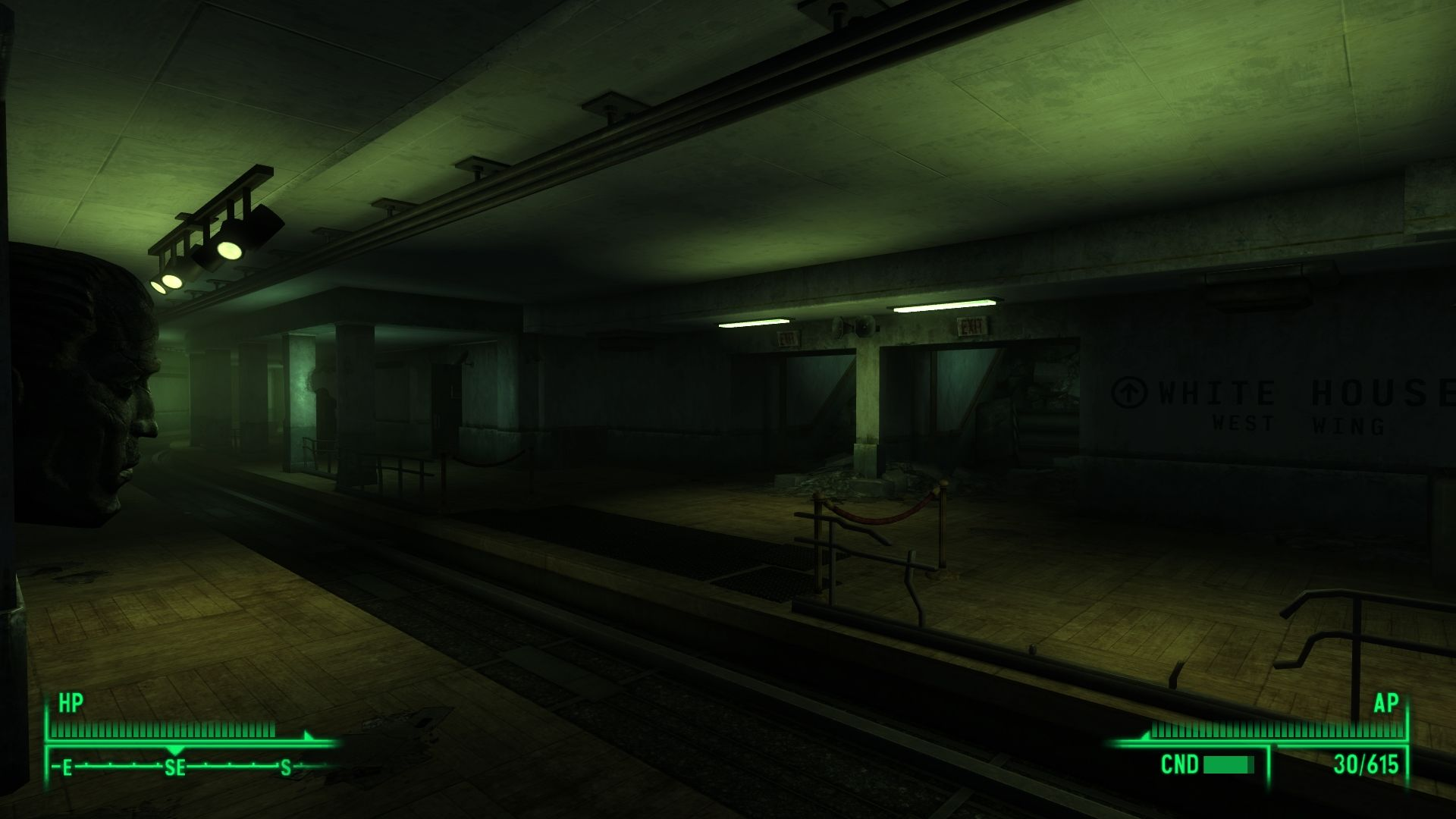 how to get to arlington house fallout 3