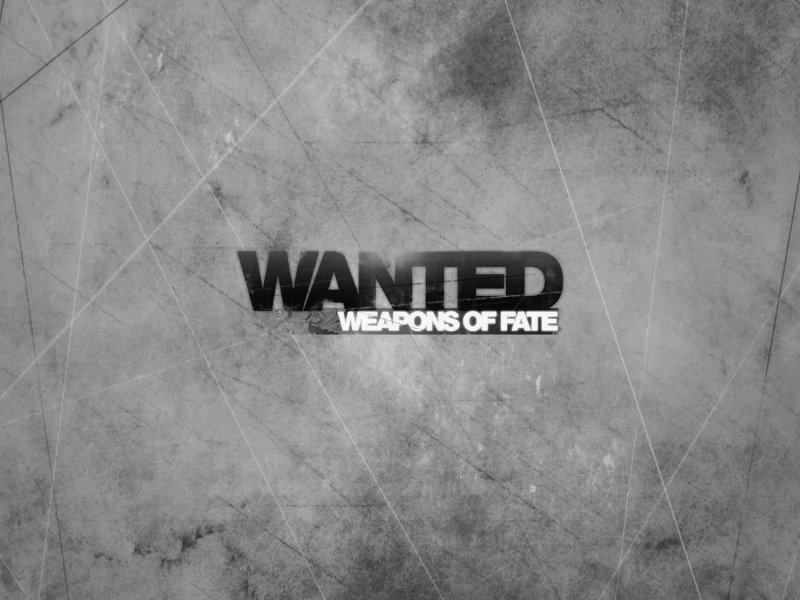 Wanted: Weapons of Fate Windows The game title